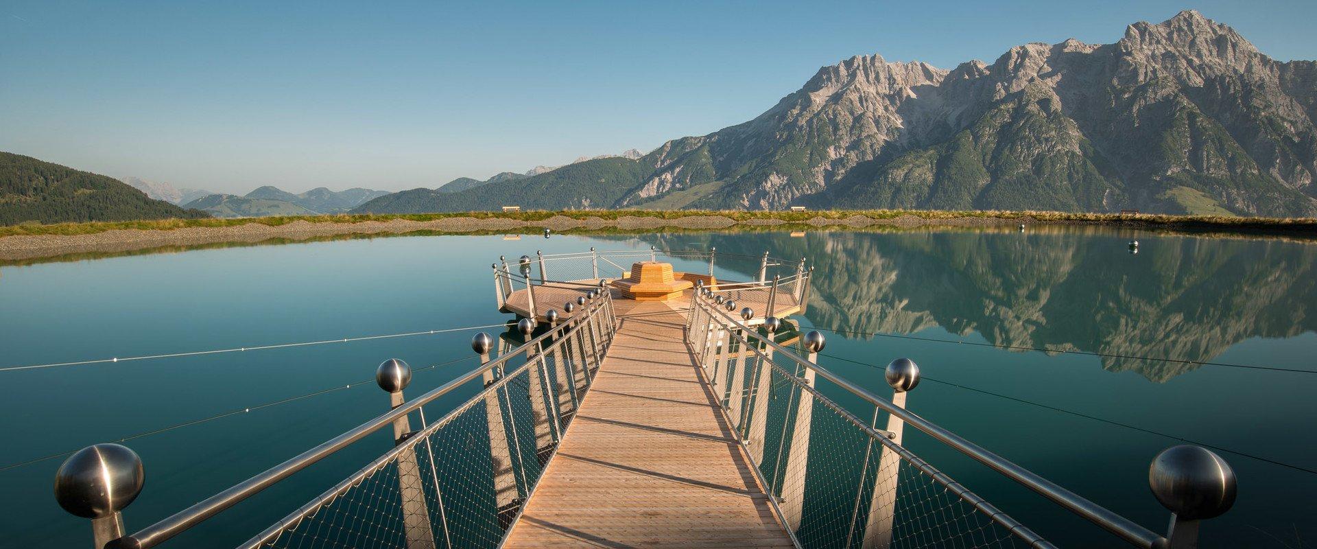 Bergsee in Leogang