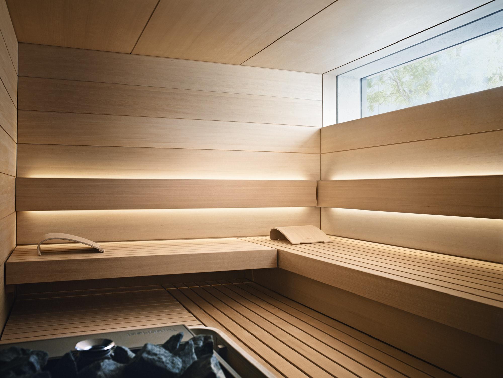 Sauna im Apartmenthaus Meer.Blick.