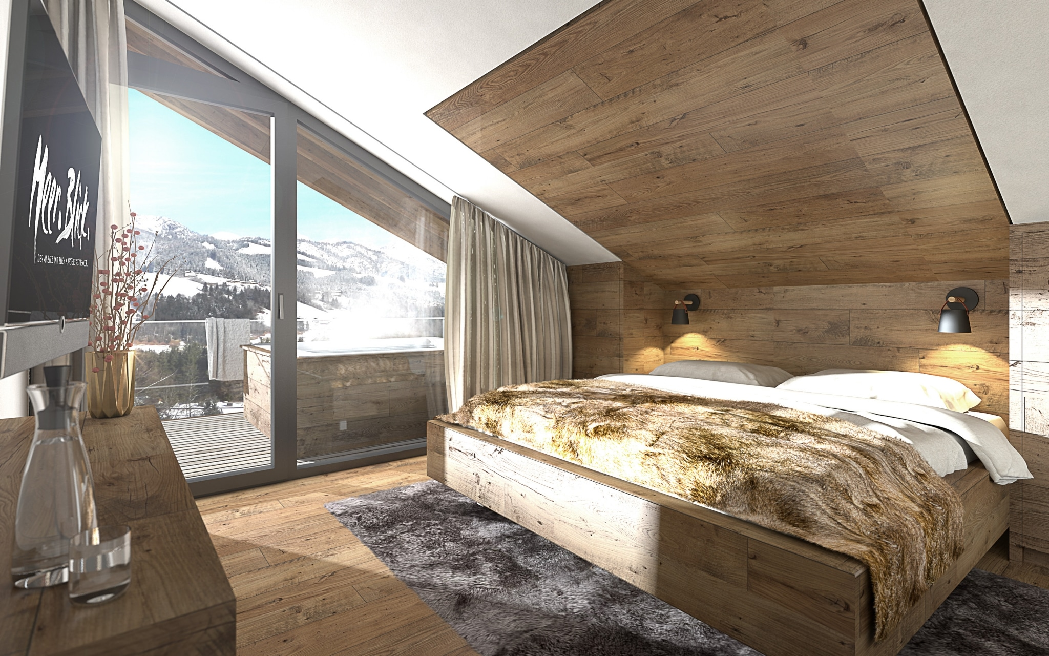Zimmer im Apartementhaus Meer.Blick.
